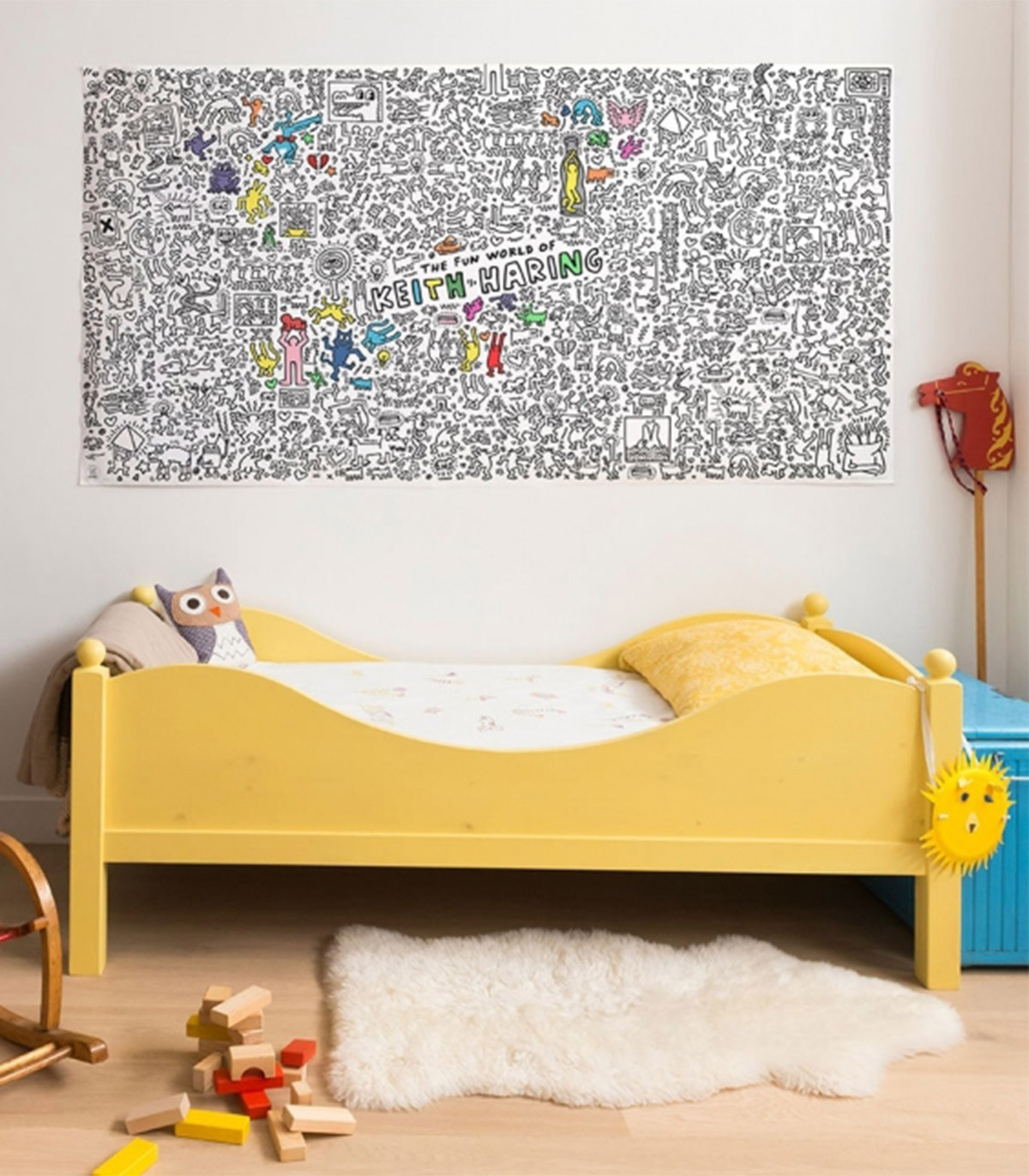 Giant Colouring Roll - Keith Haring