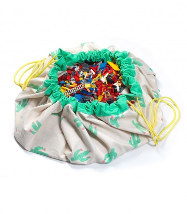 Toy Storage Bag & Play Mat - Cactus (Limited Edition)