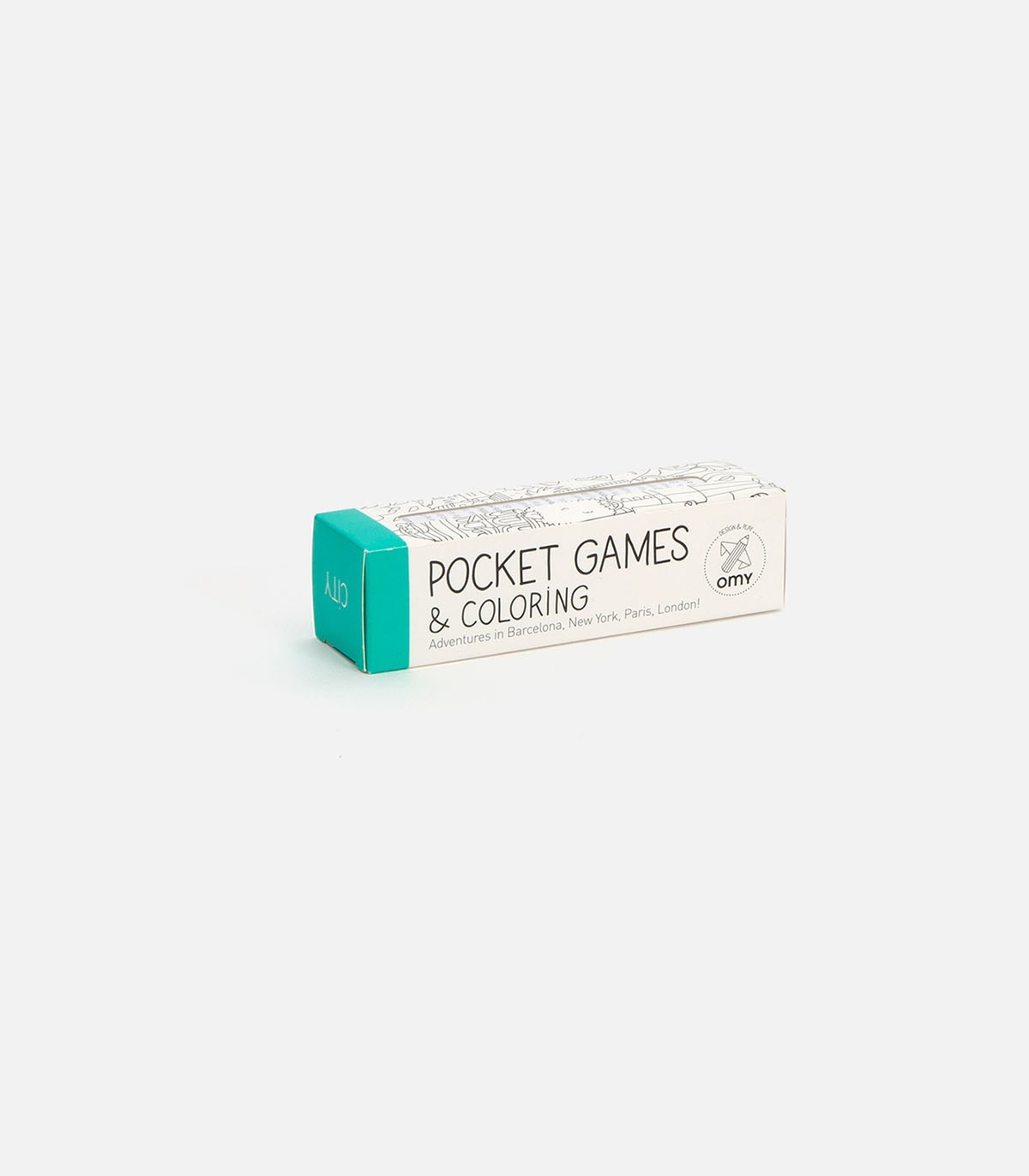 Pocket Games & Colouring Roll - City